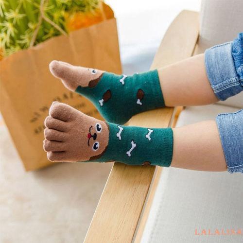 Toddler Socks Kids Animal Five Fingers Sock Hosiery Toe Sock Children Fashion