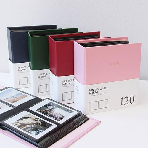 5cf220b889e74 INDIGO Prism Mini Polaroid Album / 120 Pockets