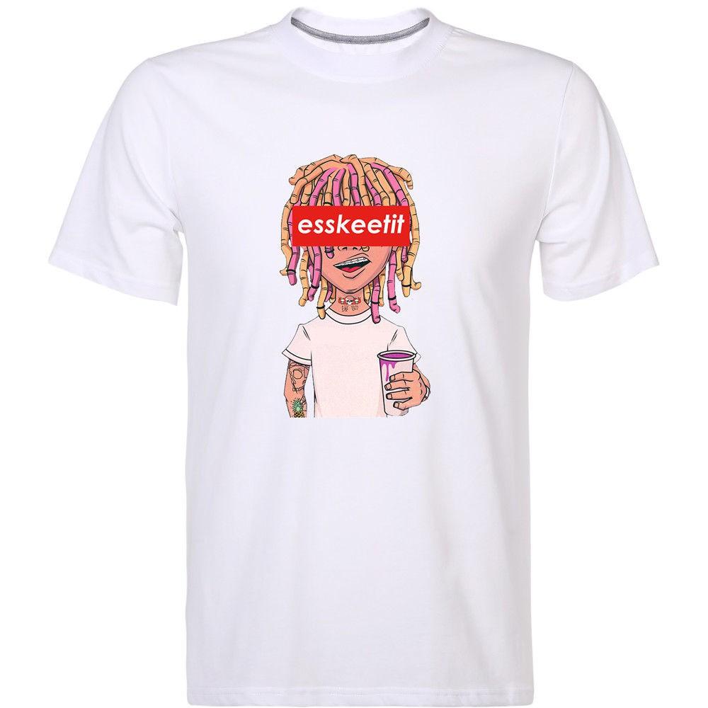 0649eecd08e7 Lil Pump Basketball Esskeetit Money Rap Rapper Singer Hip Hop Music T-Shirt  Tees White   Shopee Malaysia