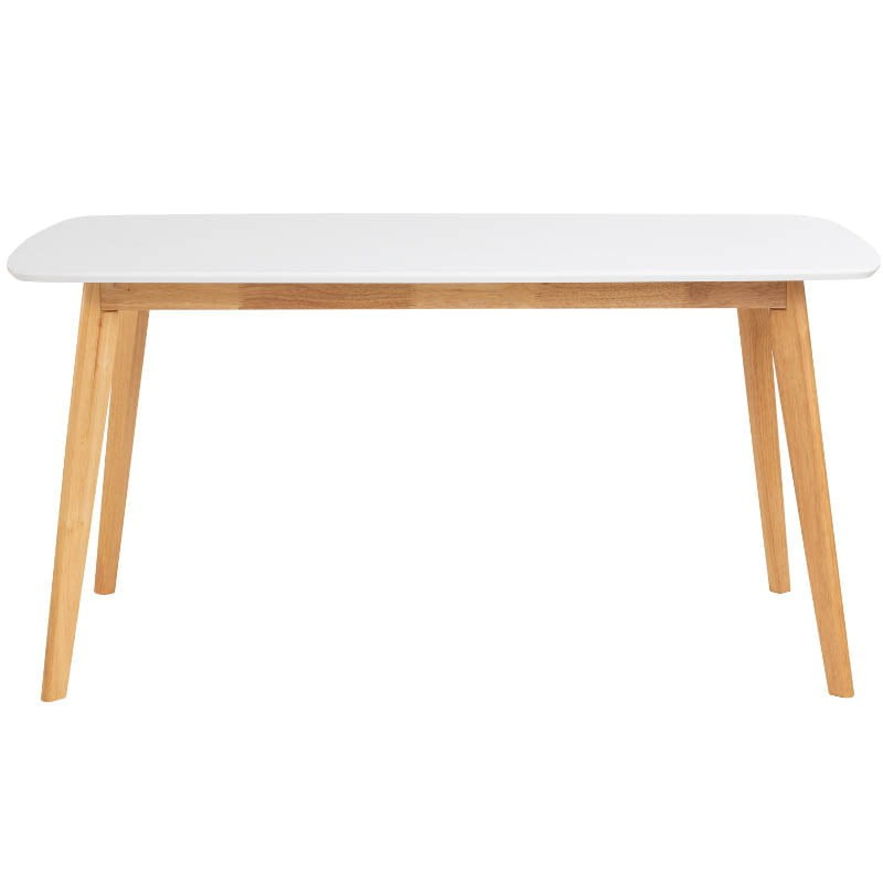 Aimon 900 X 1500 Dining Table In Natural Colour Leg
