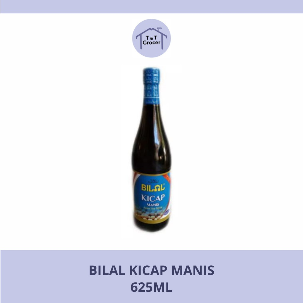 Bilal Kicap Manis (625ml)