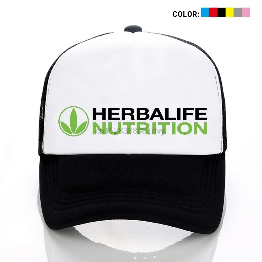 OF Herbalife Nutrition Logo Print Hat cap Unisex Men Women Cotton Hat Adjustable Baseball cap Sports Hat Outdoors cap Snapback Hat