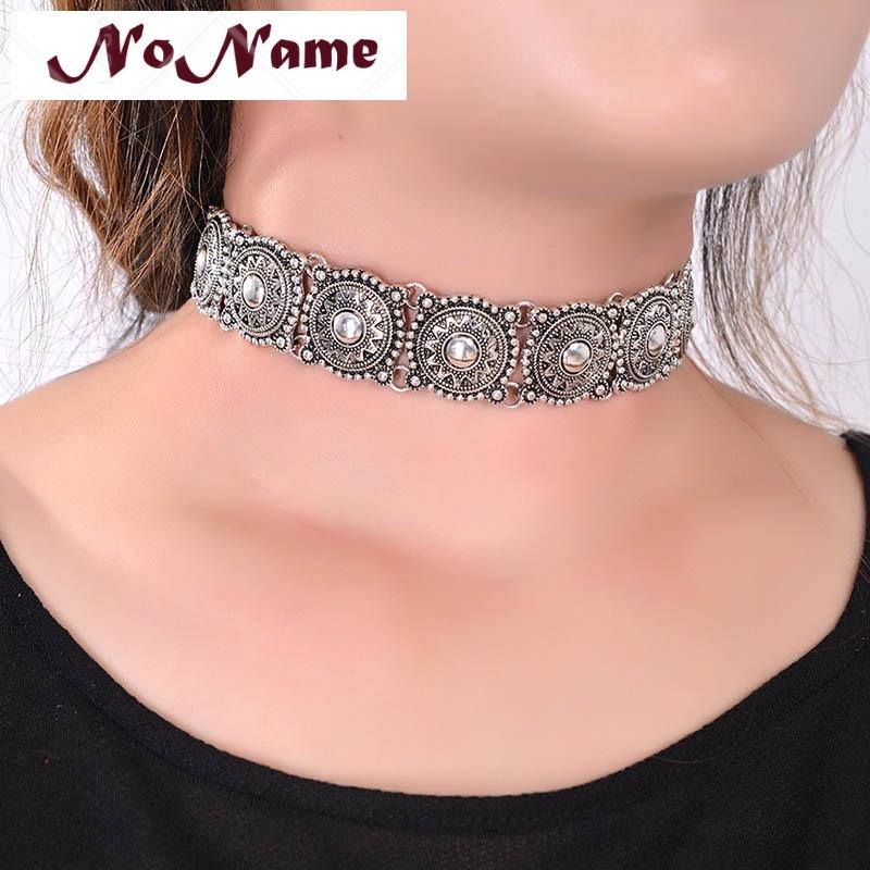 Women Ethnic Boho Fashion Jewelry Tassel Collar Necklaces Choker Necklace