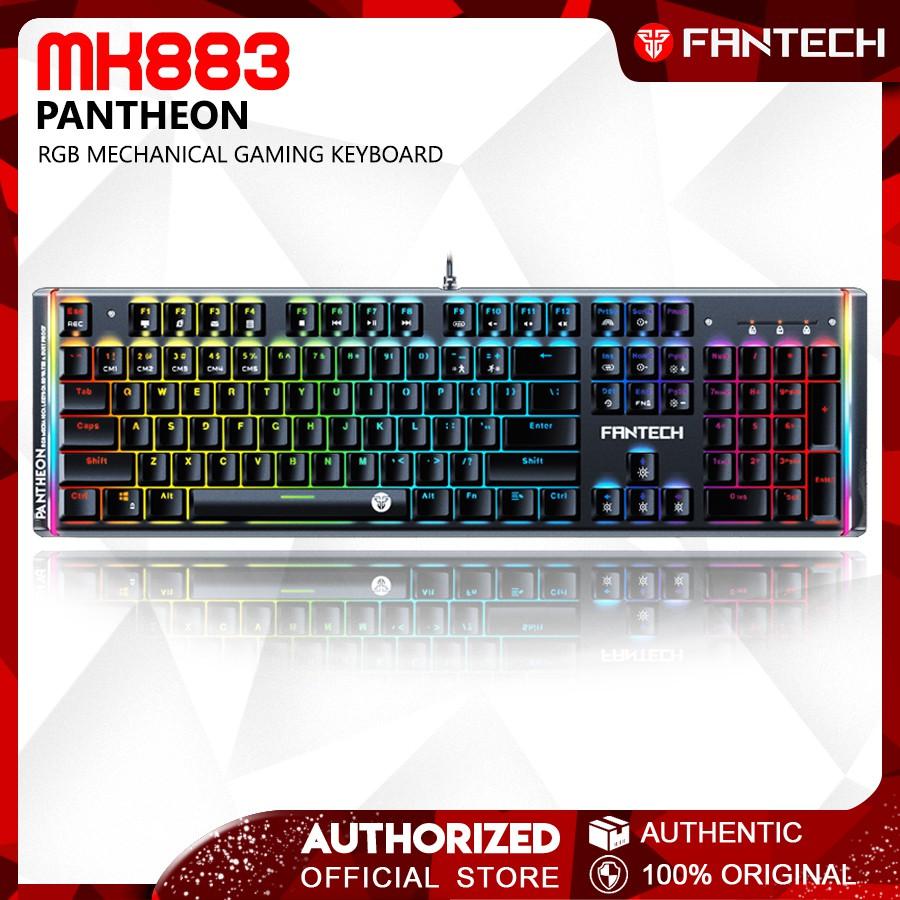 Fantech PANTHEON MK883 Blue Switch Professional RGB Gaming Mechanical  Keyboard