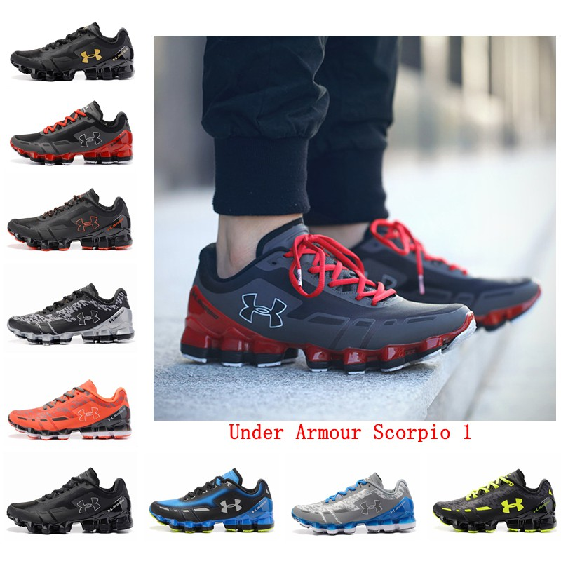 d0edf09b0cf Men Shoes Running Shoes Under Armour Scorpio 1 Training Shoes UA Sport Shoes