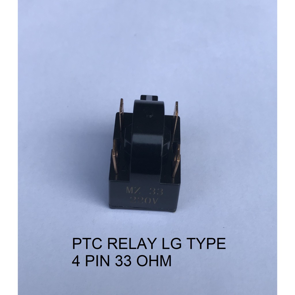 REFRIGERATOR RELAY PTC 1 PIN / 2 PIN / 3 PIN / LG TYPE 4 PIN