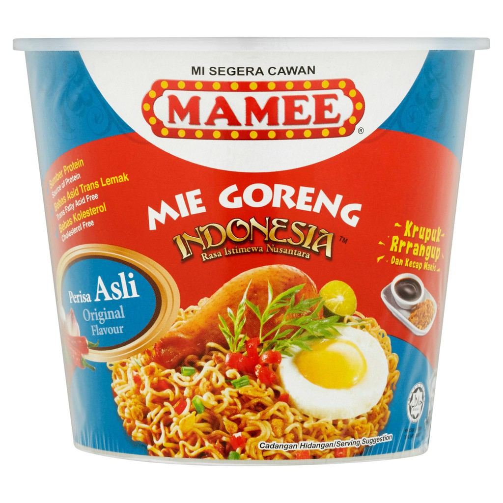Mamee Mie Goreng Indonesia Cup 80g