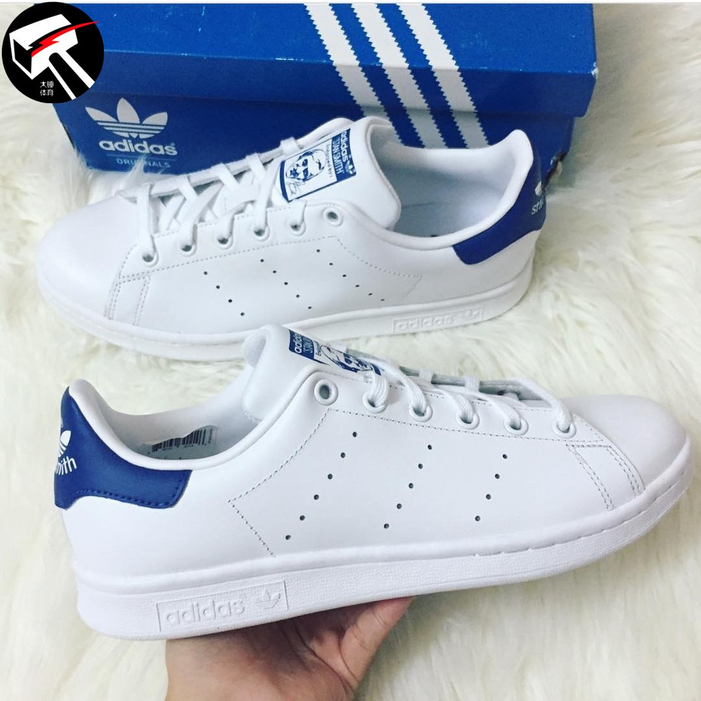 Leisure Adidas Stan Smith(Run White Dark Blue) m20325 Sale