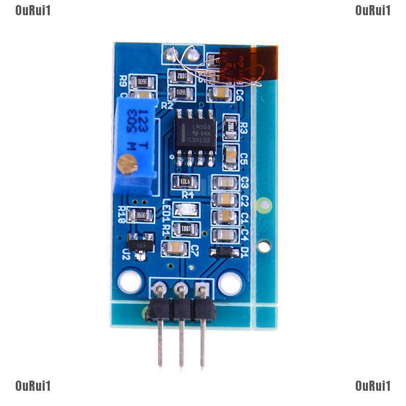 10Pcs Strain Gauge Bending Sensor Module Weighing Amplifier Voltage Output