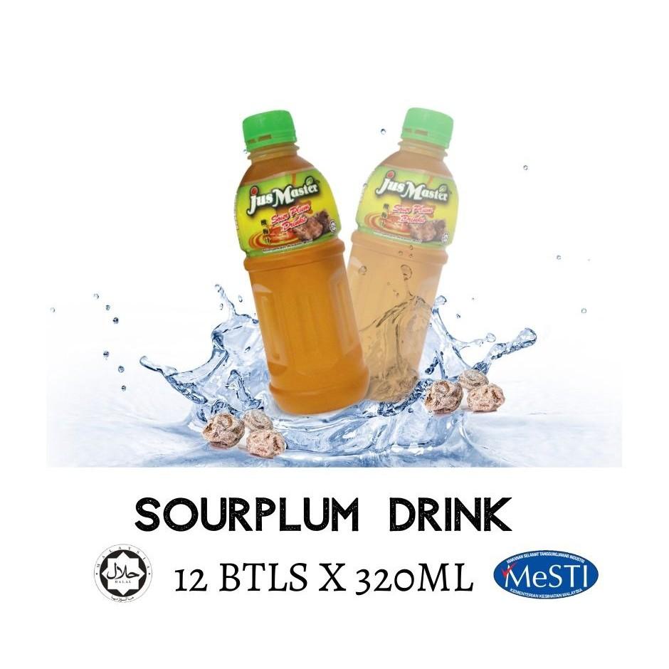 Jus Master Sour Plum / Asam Boi Flavour Drink (12 x 320ML)