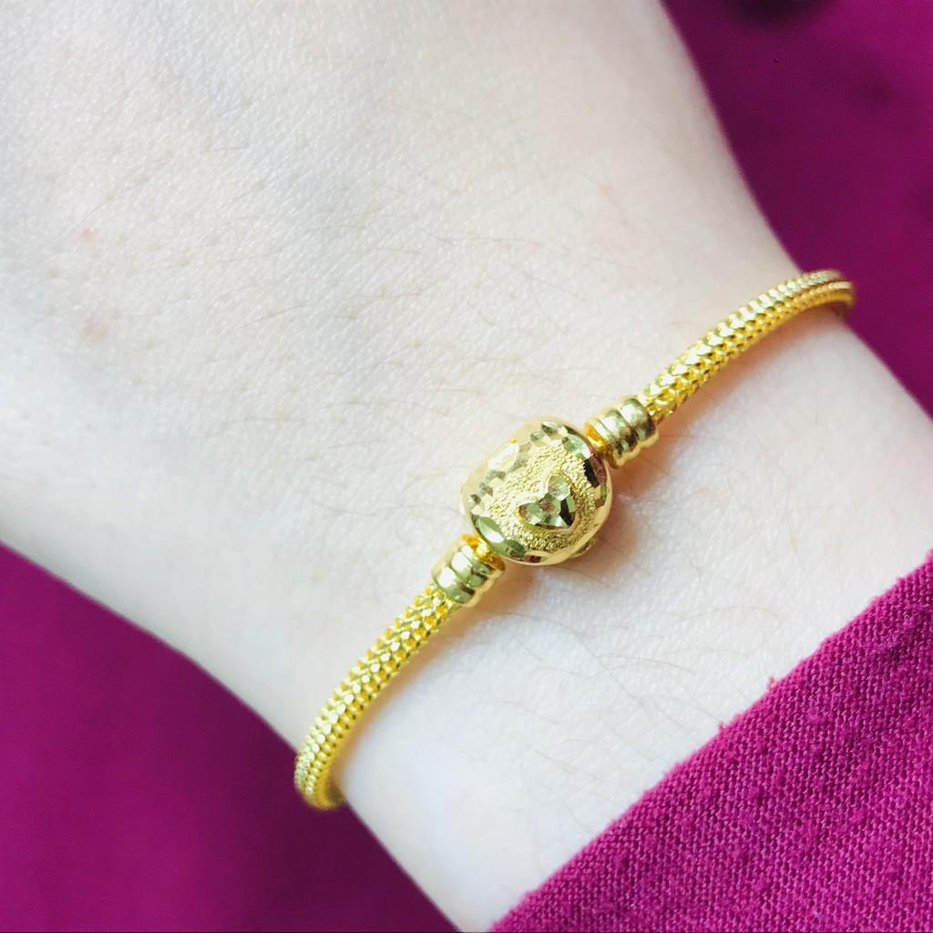 Masdora Double Loves Bracelet 916 Gold / Gelang Emas Masdora Double Love Clasp (Emas 916)