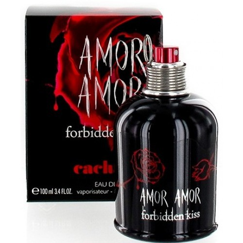 4ce2bb2c4 CACHAREL AMOR AMOR FORBIDDEN KISS For Women Edt 100ml [AVAILABLE] | Shopee  Malaysia