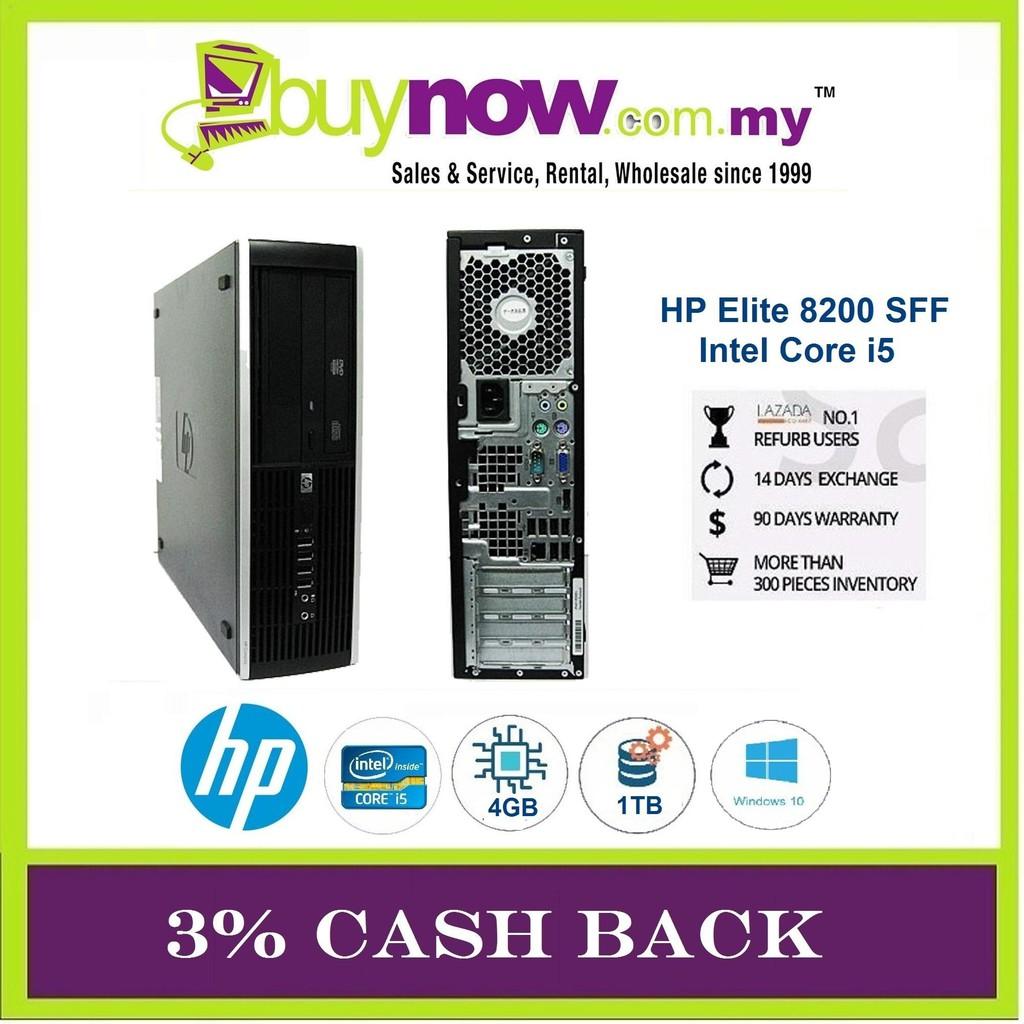REFURBISHED DESKTOP HP ELITE 8200 i5 /4GB/1TB/WIN 10 PRO/ 3% CASH BACK