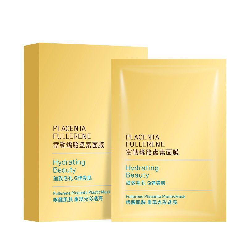 [ READY STOCK ]  Facial Mask Hyaluronic Acid Face Skin Mask Makeup Moisturizing Brightening Skin Care Jualan Murah Lotion