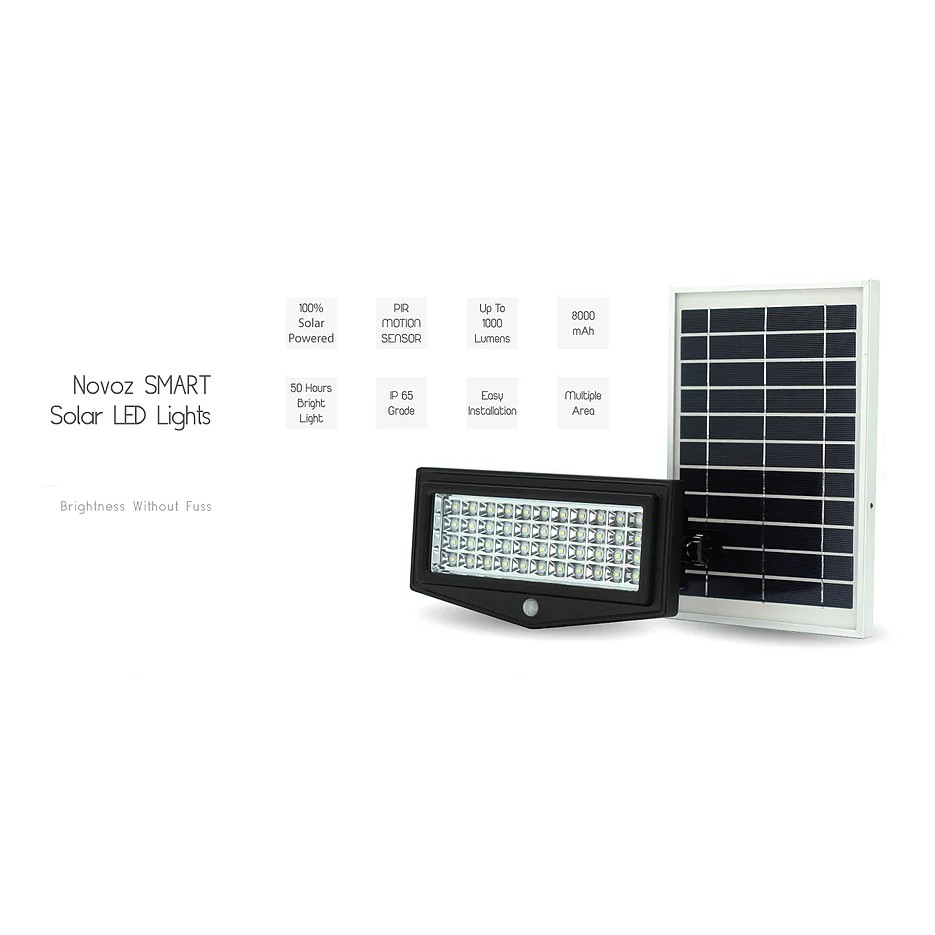 L'VORO Smart Solar LED Security Light