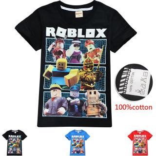 Details About Roblox Childrens T Shirt Personalised Girls Boys Roblox Gamer T Shirt Fashion Summer Clothing Roblox Cartoon Children Boys Short Sleeve Tops T Shirt Shopee Malaysia