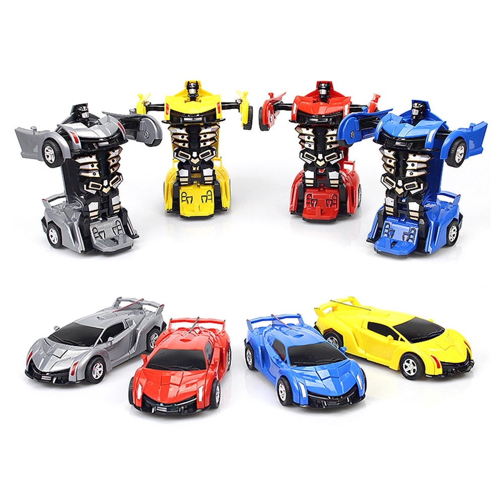 Robot Car Transformers Kids Toys Toddler Vehicle Cool Toy For Children Gifts