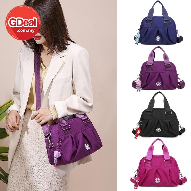 GDeal Simple Handbag Korean Ladies Fashion Waterproof Casual Portable Large Capacity Canvas Leisure (RYL-295)