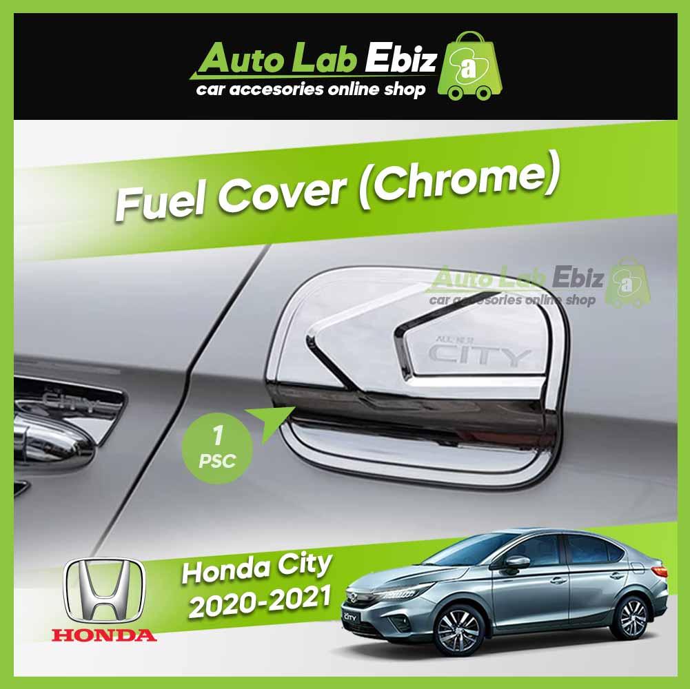 Honda City 2020-2021 Fuel Cap Cover (Chrome)