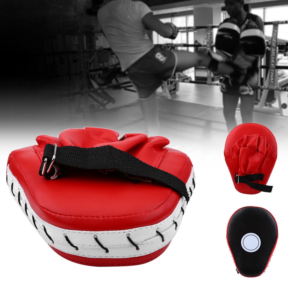 RDX Focus Pads Mitts Boxing Punch MMA Muay Thai Training Strike Pad Curved Kick