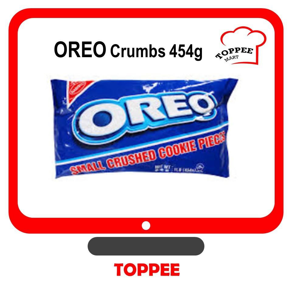 OREO Small Crushed Cookie Pieces OREO Crumbs 454g OREO Cookies OREO Hancur