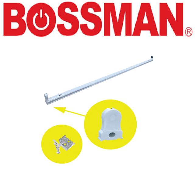BOSSMAN LED TUBE T8 FIXTURE TYPE ONE  PEMEGANG LAMPU SATU JENIS