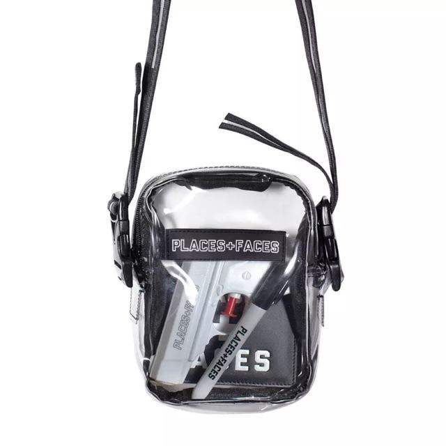 fe8d9cb63d52 Places + Faces Sling Bag Places Faces Sling Bag Transparent Bag PF Sling Bag