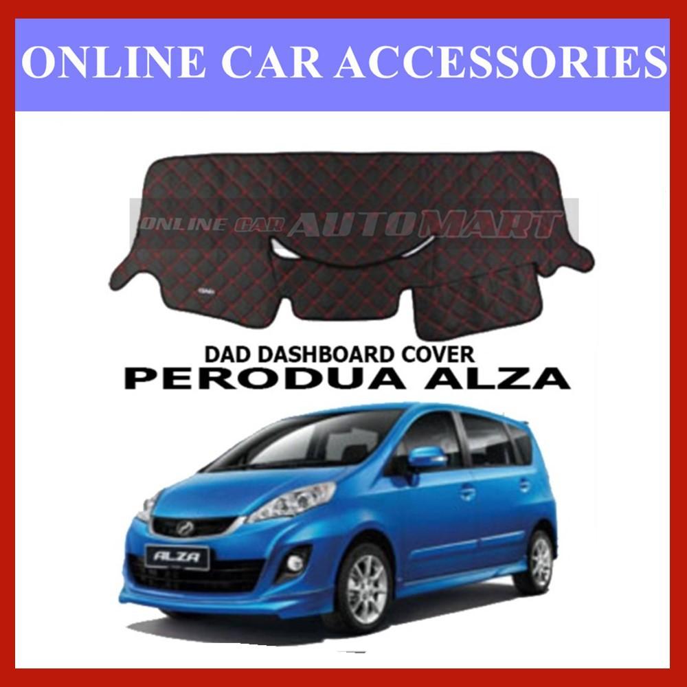 DAD Non Slip Car Dashboard Cover - Perodua Alza