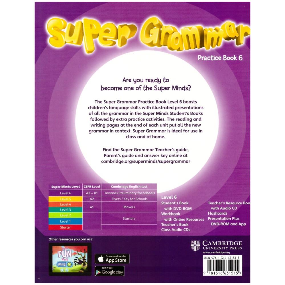 Pan Asia-Super Grammar - Practice Book 6 | Shopee Malaysia