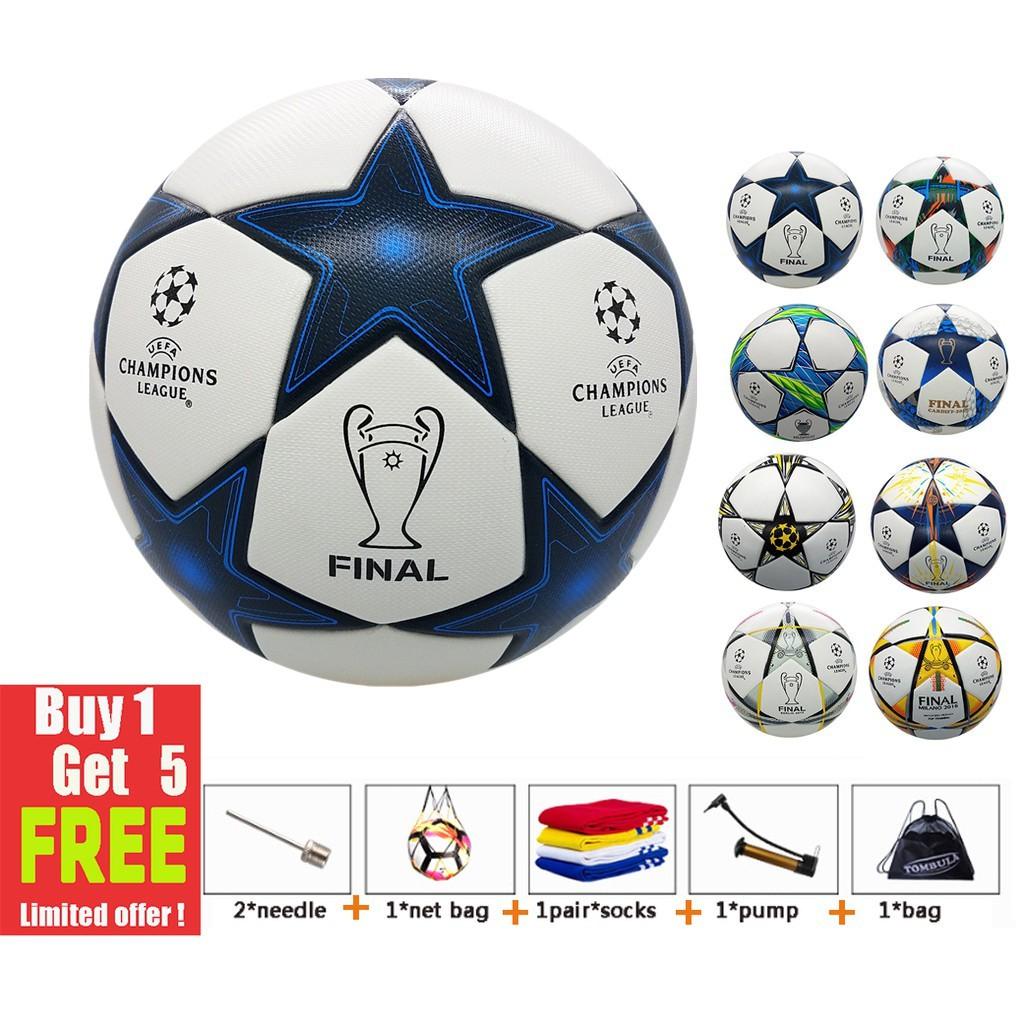 Final Champions League ขนาดฟุตบอลอย่างเป็นทางการ 5 foo