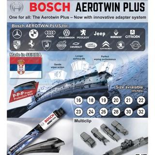 Hypermoderne BOSCH AEROTWIN PLUS MULTICLIP WIPER | Shopee Malaysia VF-38