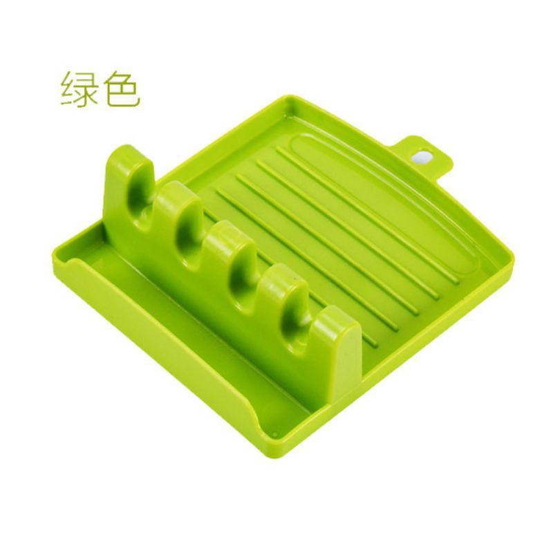 【厨房锅铲架】家用汤勺筷架锅铲拖垫厨房收纳置物架多功能锅盖架