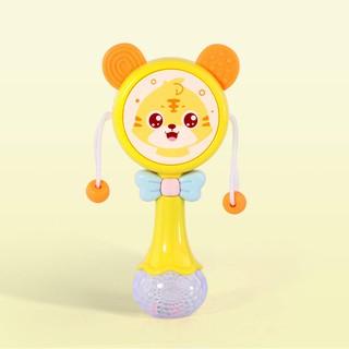 Toddler Newborn Infant Rattles Toy Handbell Cartoon Boy Girl Baby Soft Plu NNL