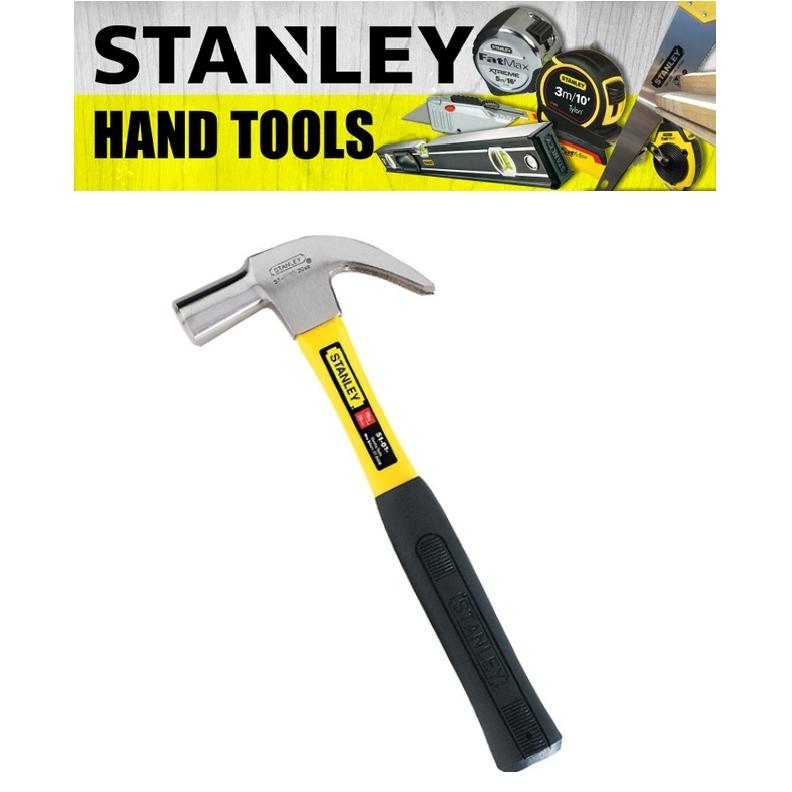 STANLEY HAND POWER TOOLS HEAVY DUTY FIBRE HANDLE CLAW HAMMER 27MM  51-391 Fiberglass Handle (3 MONTH WARRANTY)