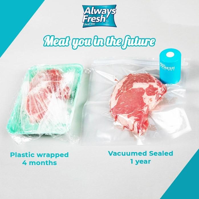 MALAYSIA- PLASTIK VACUM KHAS MAKANAN/ MAKANAN TAHAN LAMA / Always Fresh Seal Vac