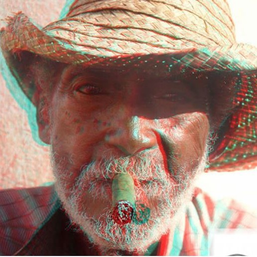 Red Cyan Blue 3D Glasses Anaglyph Paper
