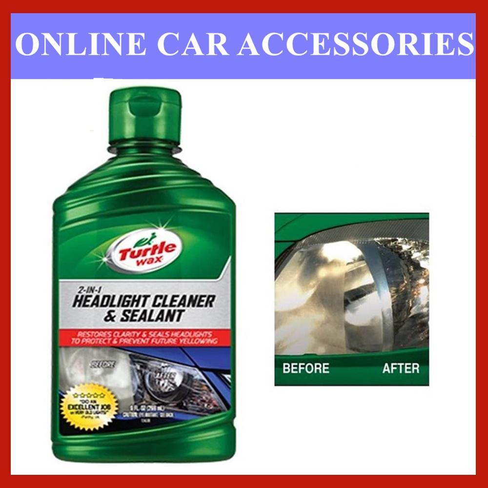 Turtle Wax 2 in 1 Headlight Cleaner & Sealant T-43