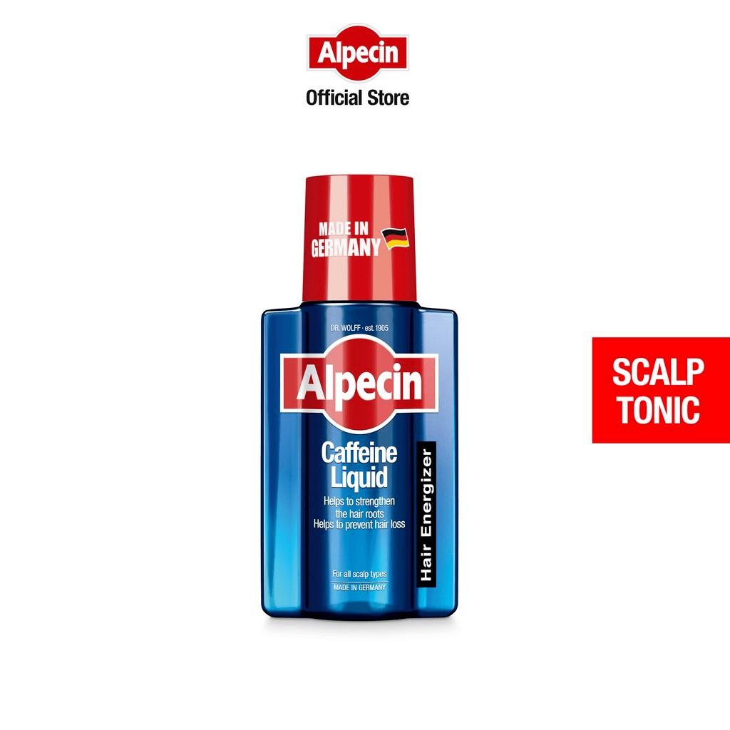 Alpecin Caffeine Liquid (200 ml) - Men's Tonic Against Hair Loss