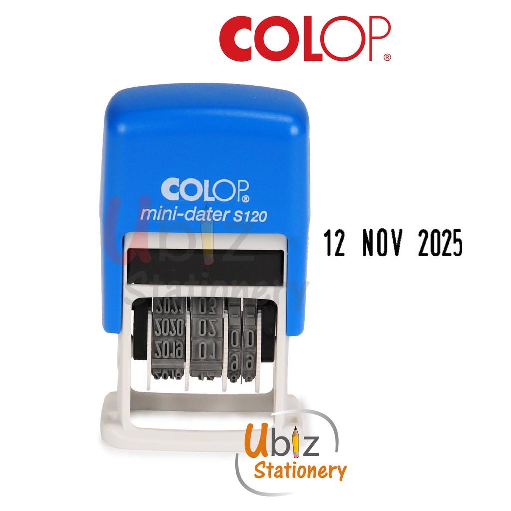 COLOP Mini-Dater Pre Ink / Self Ink Date Stamp S120