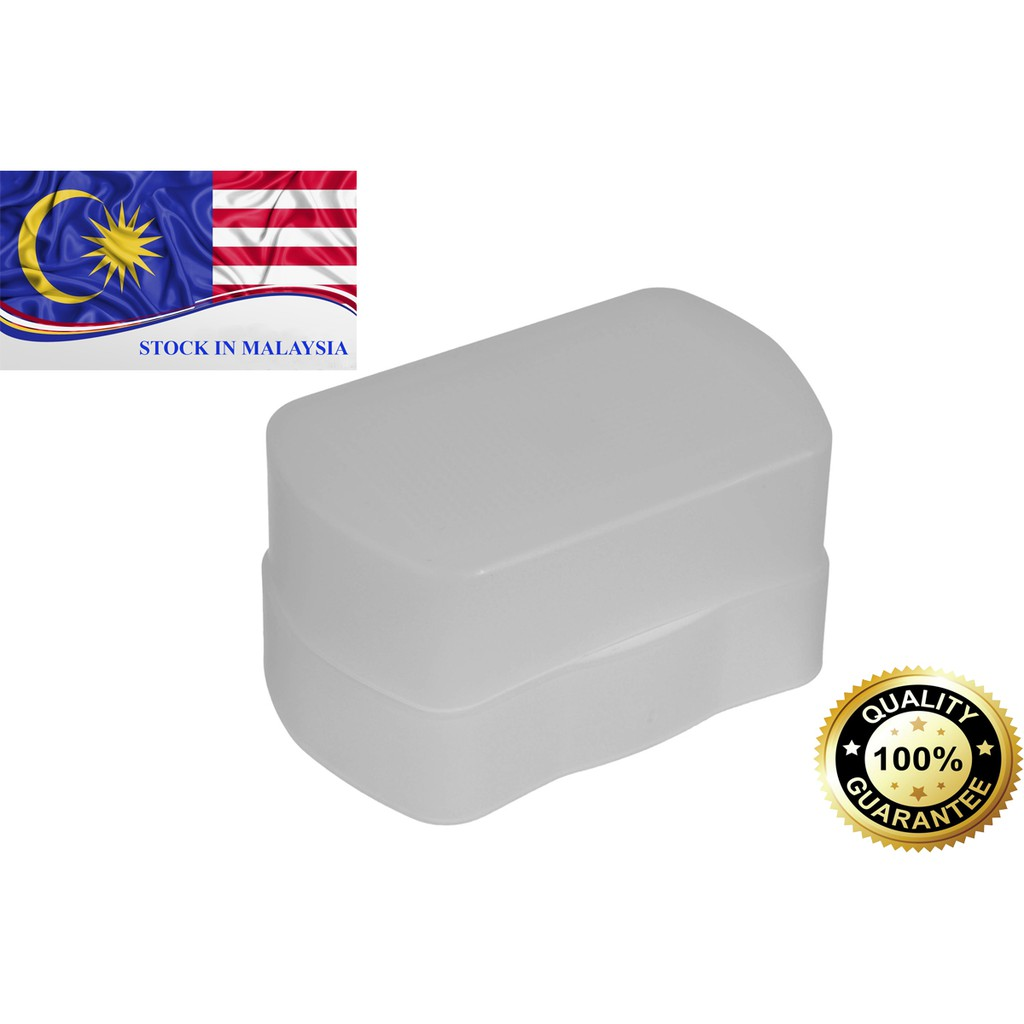 Flash Diffuser Bounce Cover For Canon Speedlite 580EX 580EXII (Ready Stock In Malaysia)