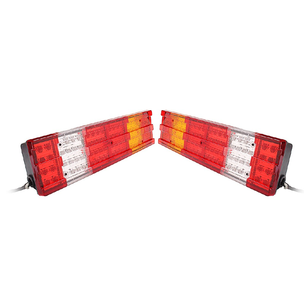2 x LED 12V REAR LIGHTS TAIL TRUCK LORRY TRAILER for IVECO MAN VOLVO MERCEDES