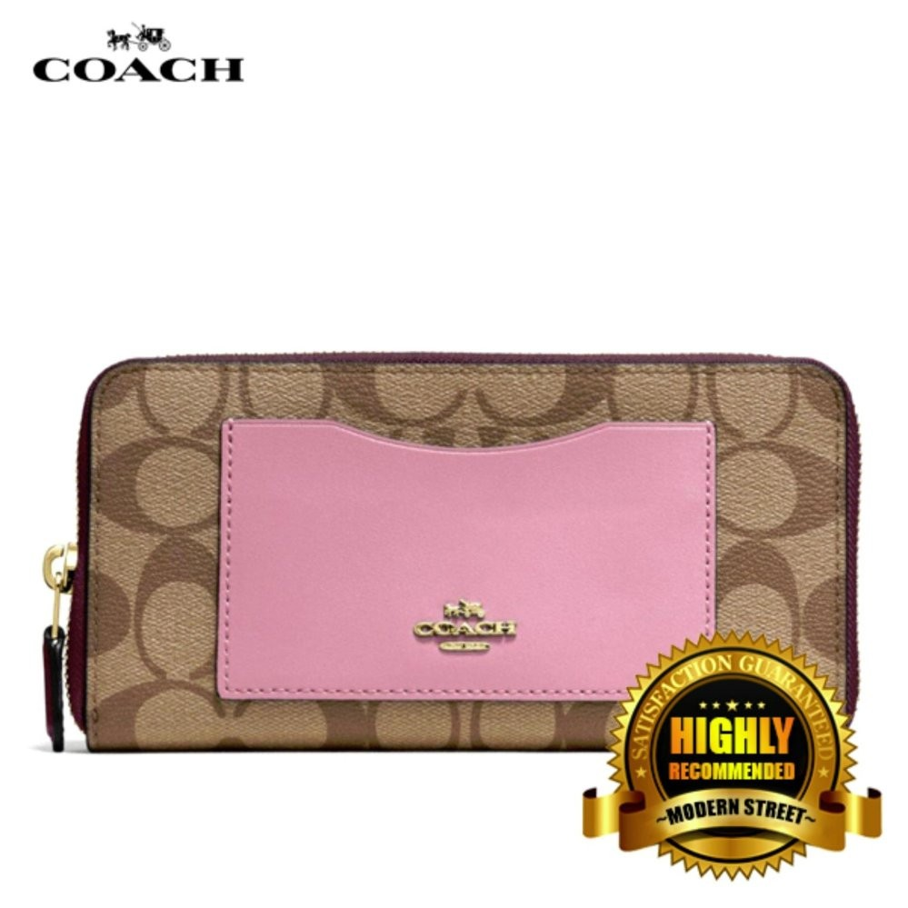 Coach F34608 Small Margot Carryall In Signature White Shopee Canvas Malaysia