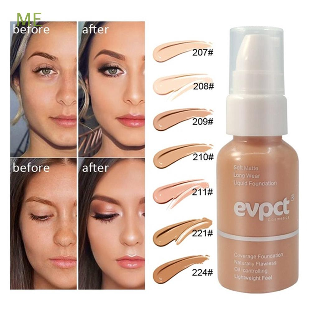 ME 7Colors Moisturizing Naturally Cosmetic Longlasting Liquid Foundation