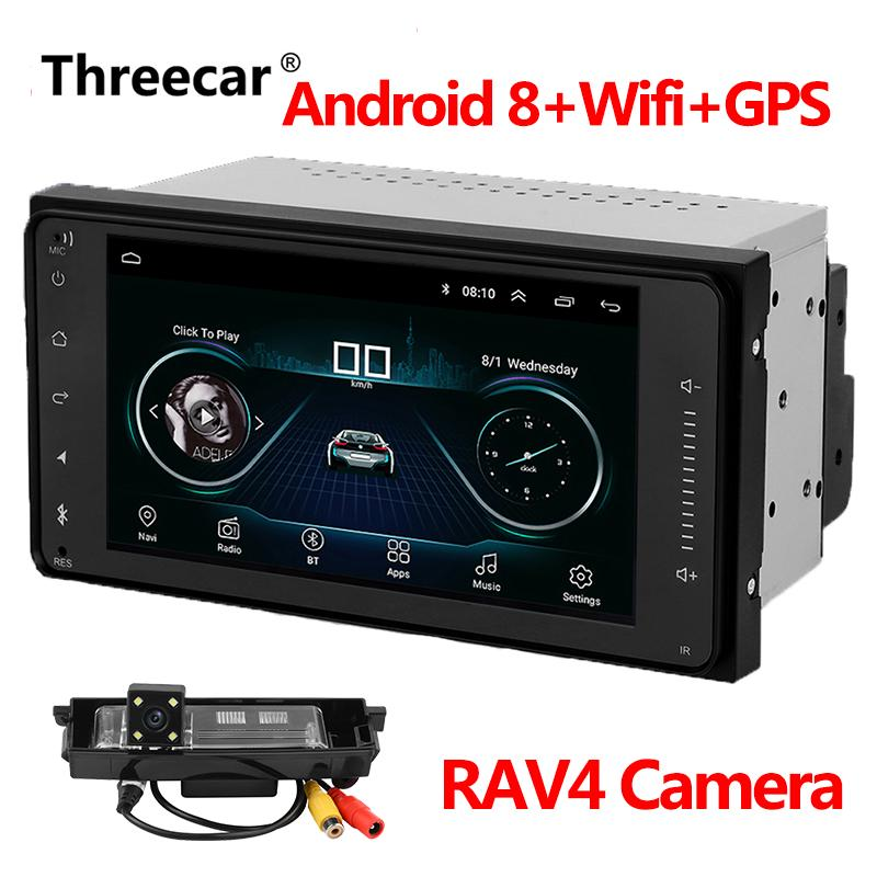 Android 8 1 Car GPS Navigation Radio For Toyota Corolla with