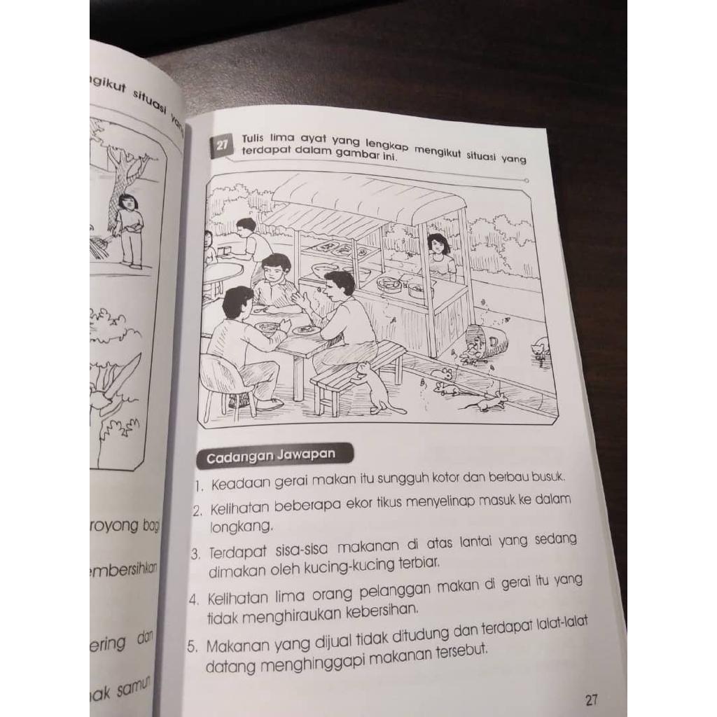 Teknik Penulisan UPSR Tahun 4, 5 & 6 Bina Ayat Tulis Karangan (Ready Stock)