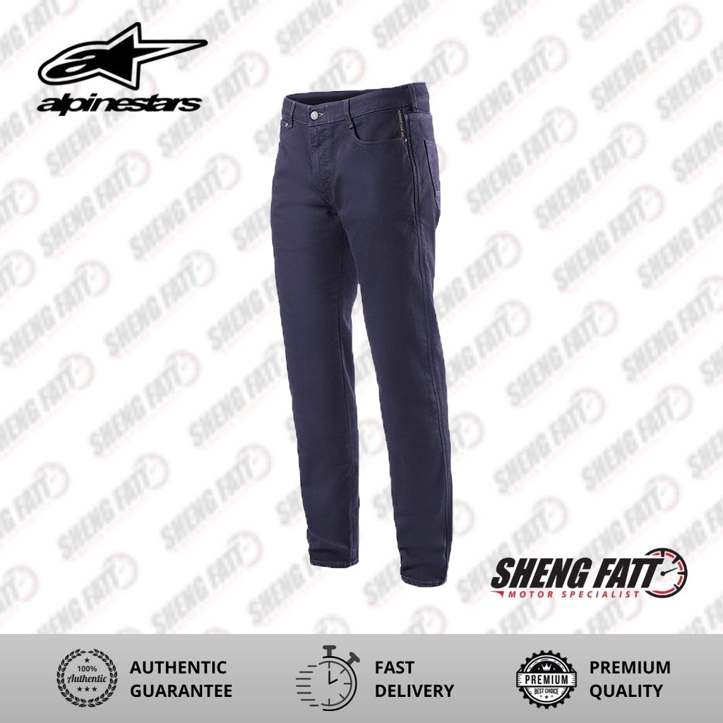 Alpinestars JCT Copper V2 Denim Rinse Blue Pants