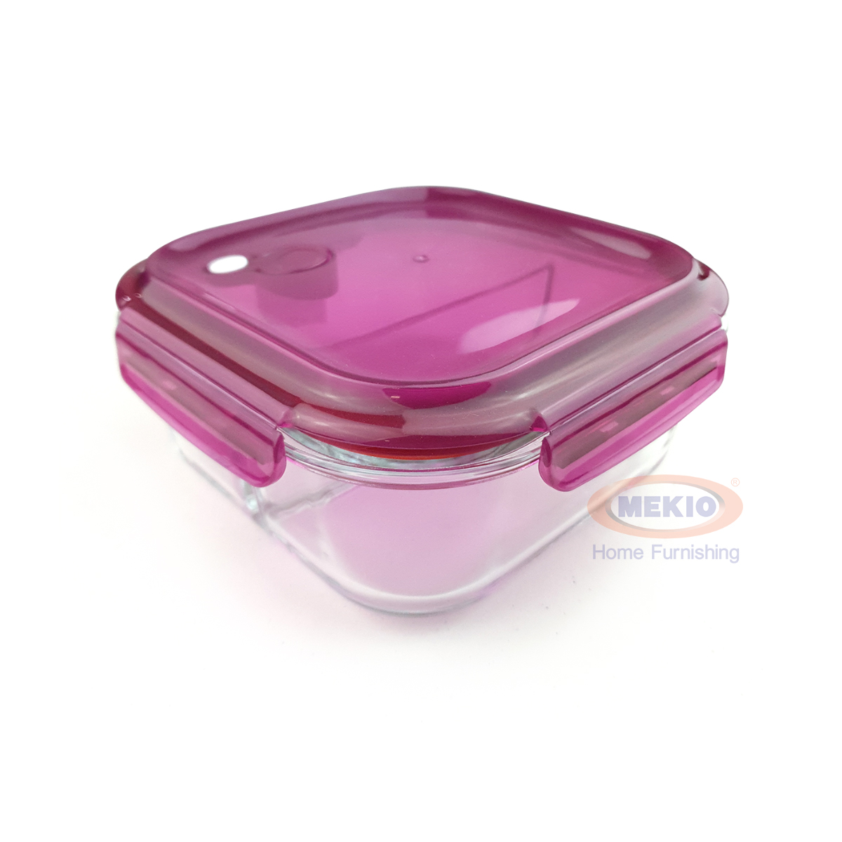 Food glass container E 1567 1000ml