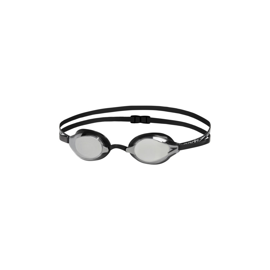 Speedo Adult Swim Mirrored Goggle Black-Gold Googles OFFShore New !