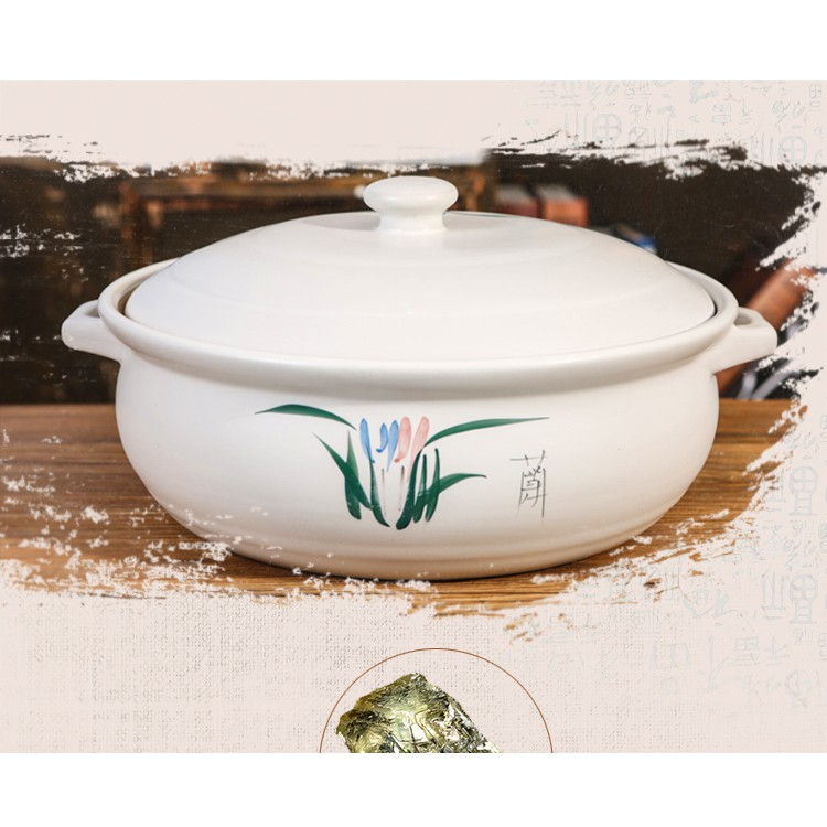 [Ready Stock] Porcelain Cooking Pot