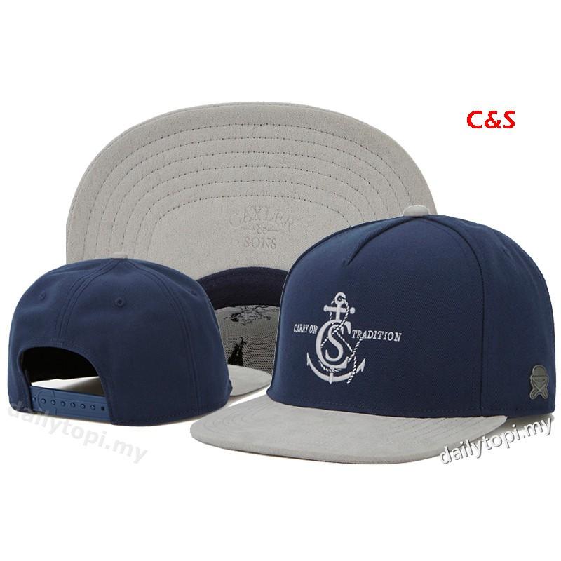 New Hip Hop Men/'s CAYLER Sons Hat adjustable Baseball Snapback Cap Blue hat 71#